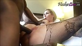 Racist aged whore takes bbc creampie - BBC whore fr...