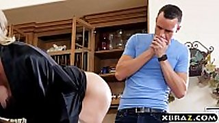 Housewife brandi love hires a young assist to fuc...