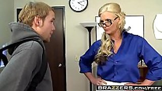 Brazzers - large milk sacks at school - i teach how to...