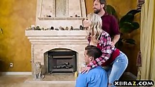 Uncontrollable sexbeast stepmom and stepson fuc...