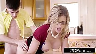 Post party quickie for a mommy - cory follow vs....