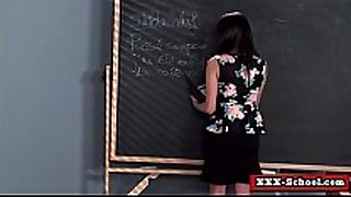 Big tit teacher screwed by student in classroom 03