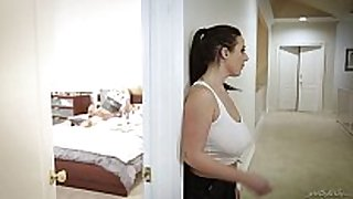 Huge titted maid copulates the virgin fellow - angela ...