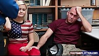 Teen blond madison hart fuck guard for bf freedom