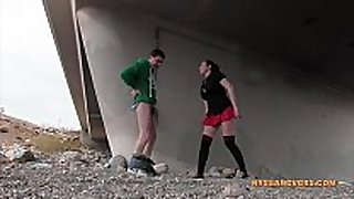 Ballbusting: vegas or ballbust (nyssa nevers an...