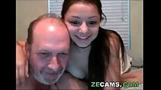 My daddy like to riding her daughter very hard