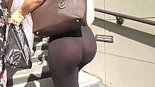 Candid gazoo - see-through leggings dark strap