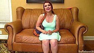 eighteen year old auditions for porn and masturbates