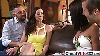 (adriana kendra) real wench concupiscent white lewd white non-professional white floozy cheats in hard ...