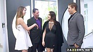 Valentina seduces the host's spouse