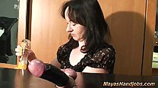 Cbt with captive cock and balls