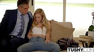 Tushy 1st anal for rebellious lyra law