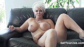 Dominatrix alura jenson makes u eat your cum