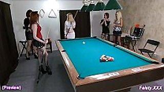 Kinky billiards 10min preview - feisty.xxx