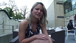 Real czech waitress bonks for specie