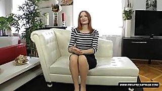 Cute porn hopeful eva berger has a hardcore ana...