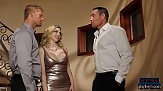 Wife copulates a politician to help her husbands ca...