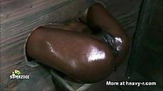 Ebony fuck gap