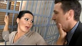 Prisoner's filthy wench white doxy fucked