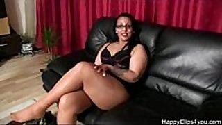 Gina's nylon footjob tugjob and greater amount....