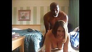 Cuckolding BBC slut copulates dark man & films it for ...
