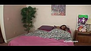Brother and sister sharing bed ended in great fuck