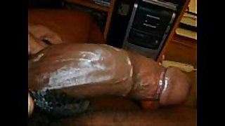 Ebony getting a hard anal pounding