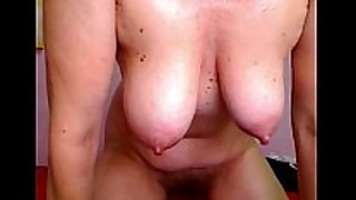 Sexual animal aged married woman