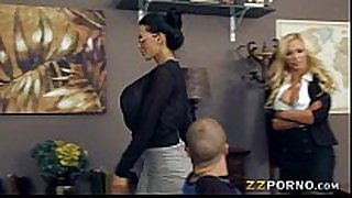 Busty teachers amy anderssen and nikki benz fuc...