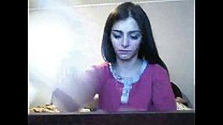 Blow-job web camera show by romanian camgirl hottalicia