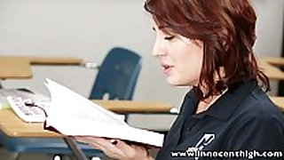 Innocenthigh youthful sinless black brown student te...