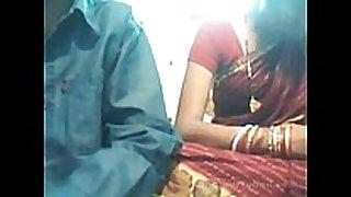 Indian youthful couple on web web camera