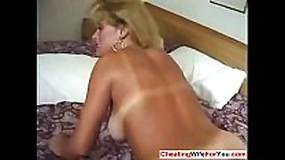 Mature blond acquires anal