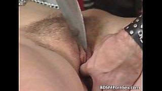 Kinky couple enjoys in sadomasochism play where
