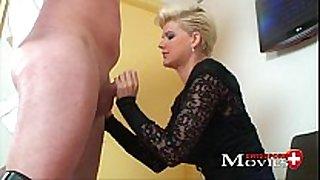 Blonde scarlet youthful screwed by sex tool salesman