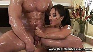 Wet asian fetish masseuse hottie