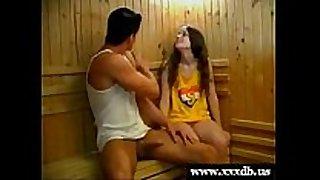 Femke gets drilled by her gym teacher
