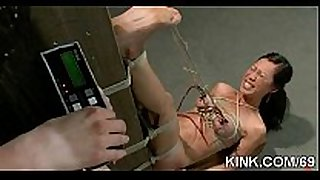 Pretty sexy dirty doxy white bitch knox suspended, dog play, thraldom
