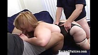 Hot chunky white babes getting wild and nasty