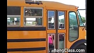School bus driver fucking legal age teenager non-professional obscene bitch housewife