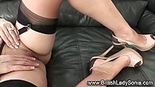 British older stylish bitch white black dick doxy sonia