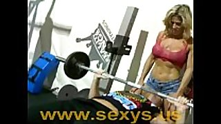 Muscle cheating housewife undressed