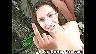 Maya returns all cum