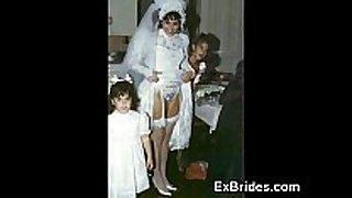 Brides wicked in public!