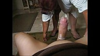 Barbara can not live out of juvenile pecker with gap in cum drum. m...