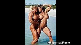 Sexy brawny girlfriends!
