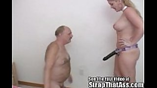 Submissive bobbie can't live without to worship at the thong...