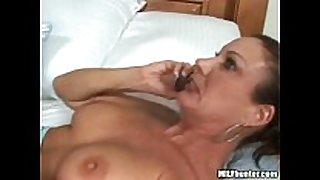A call from her husband during the time that that sweetheart acquires fucked