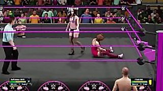 Wwe 2k18 natasha worthy w/mr marcus vs chavon wst...
