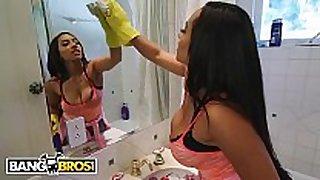 Bangbros - my messy maid priya price has large ti...